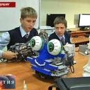 Питерские лицеисты придумали роботов для борьбы с сосульками